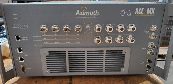 Azimuth ACE MX 120-240VAC 50-60Hz MIMO Channel Emulator
