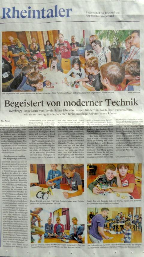 SMARTeducation.ch im Rheintaler