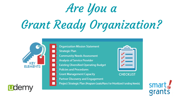 Are you a grant ready organization?