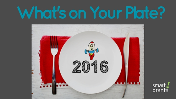 What is on your plate for 2016?