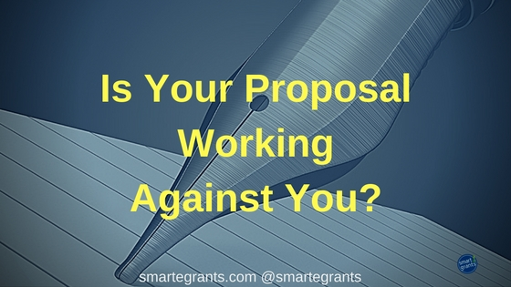 Is Your Proposal Working Against You? Concept papers can help