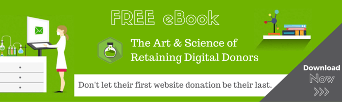 Free eBook - The Art and Science of Digital Donor Retention