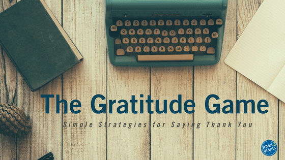 Simple strategies for saying thank you