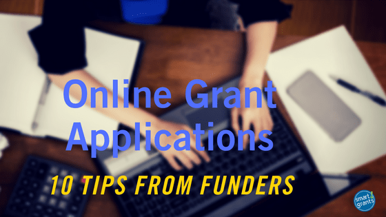 Online Grant Applications Tips from Funders