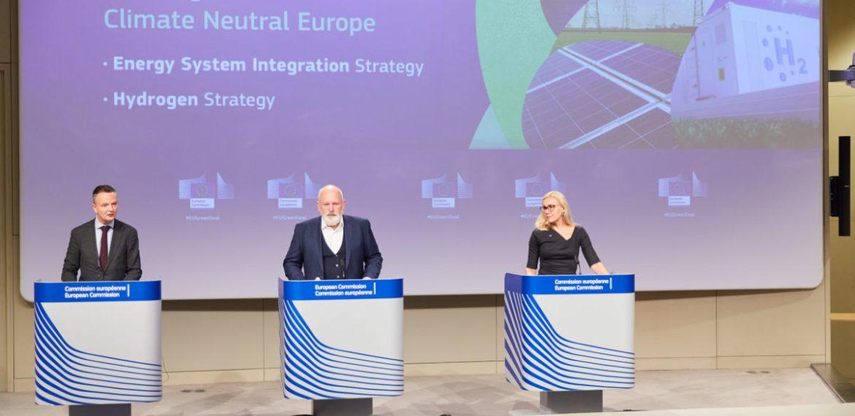 Estratégia de hidrogénio da UE pode gerar 120 GW de capacidade de energias renováveis