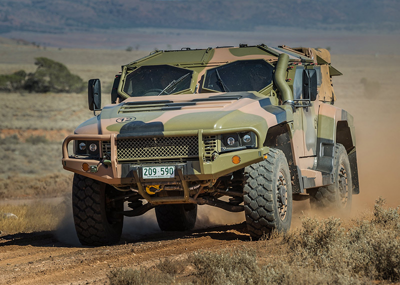 Hawkei Veículo Ligeiro Protegido(Light Protected Vehicle)