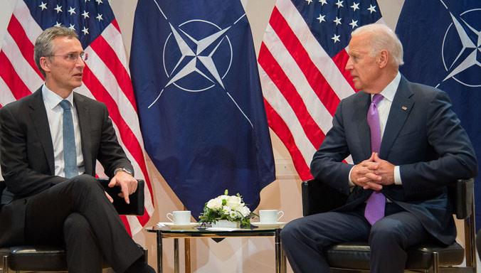 """NATO saúda Biden, um """"forte apoiante das relações transatlânticas"""""""