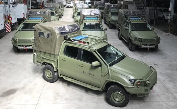 Ford Ranger é o novo carro do Exército Argentino