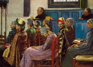 Gari Melchers   The Sermon 1886