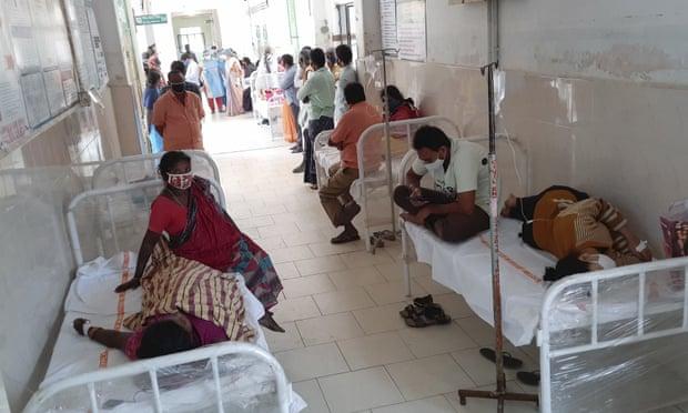 Doença misteriosa deixa 450 internados no estado indiano de Andhra Pradesh