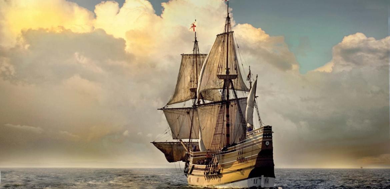 A jornada miserável dos peregrinos a bordo do Mayflower