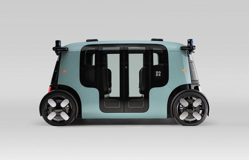 Zoox revela um carro autônomo que pode se tornar o primeiro robotáxi da Amazon