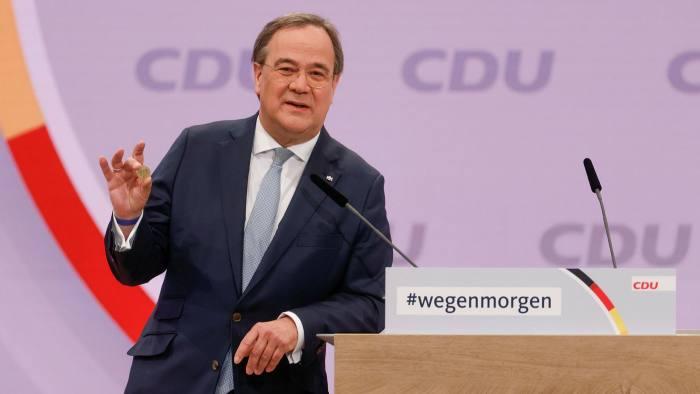Armin Laschet vence eleição para liderança da CDU