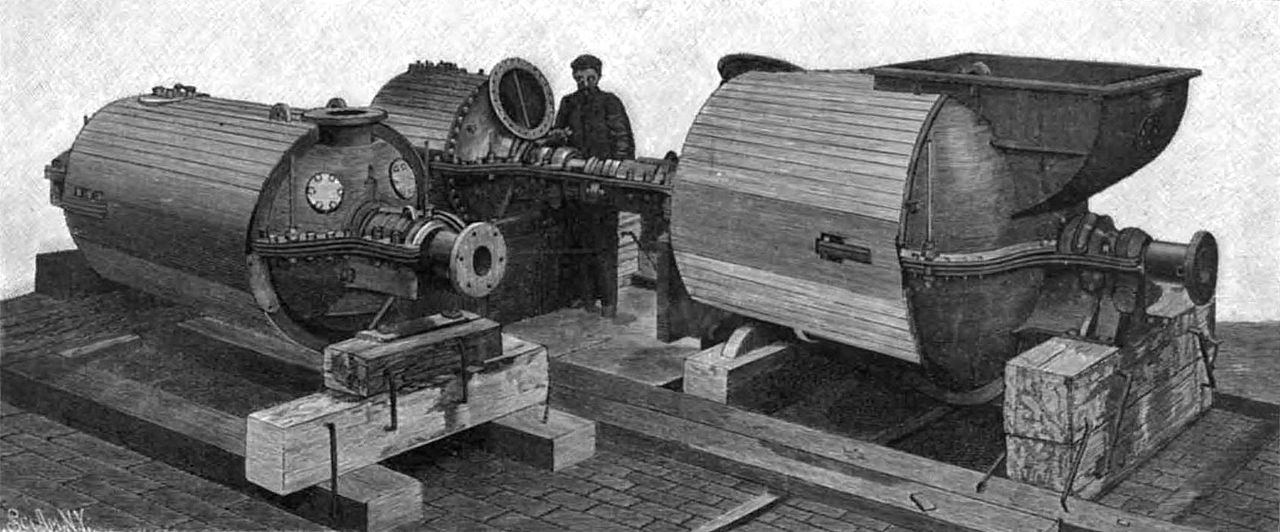 Engines of HMS Viper 1899