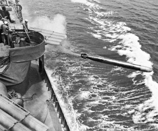 destroyer torpedo USS Dunlap World War II