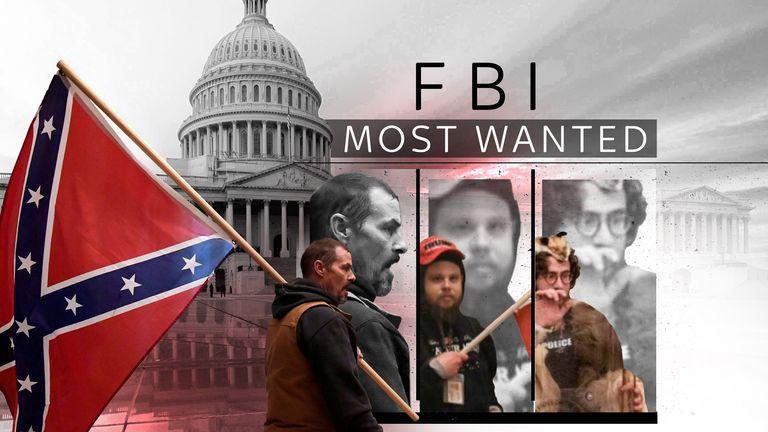 Dezenas de pessoas na lista de terroristas do FBI vieram para DC no dia do motim no Capitólio