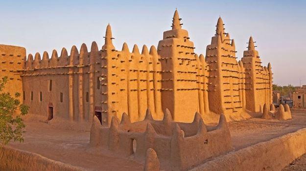 arquitetura africana mesquita djenne
