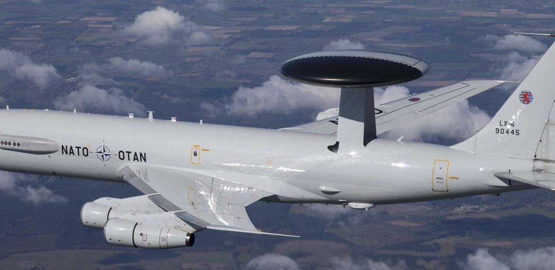 A Leonardo atualizará aeronave AWACS da NATO