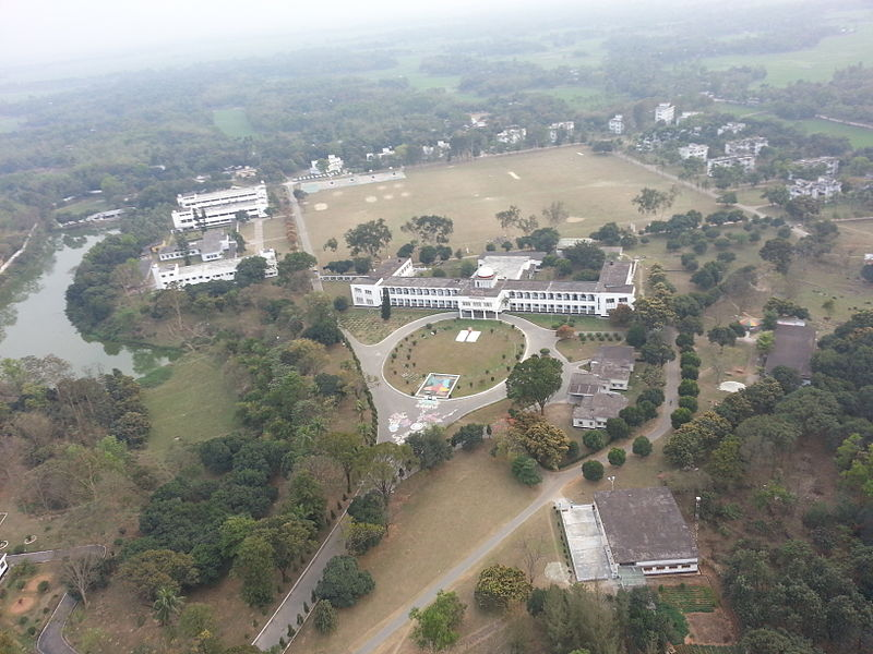800px Aerial view of Mirzapur Cadet College