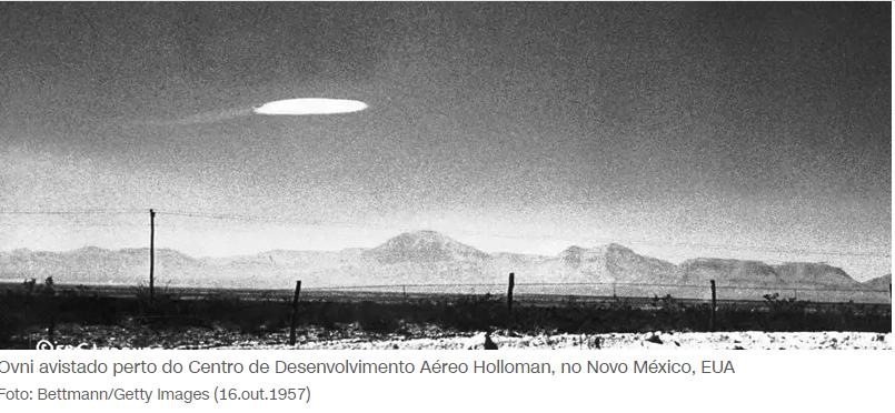 Os OVNIs são reais? O governo continua a investigar