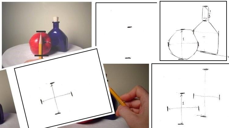 Dois métodos para um desenho preciso