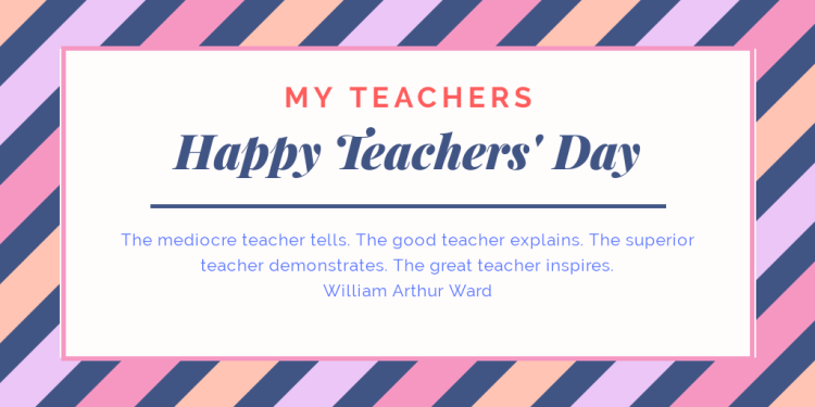 Teachers' Day 2019