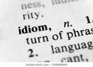 Latest English Idioms