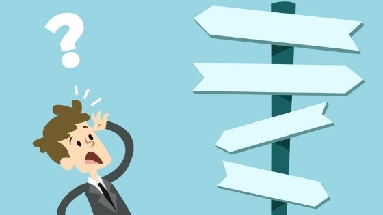 Questions before starting a business - confused businessman -smart entrepreneur blog