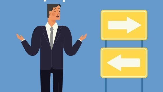questions before starting a business - a business man confused