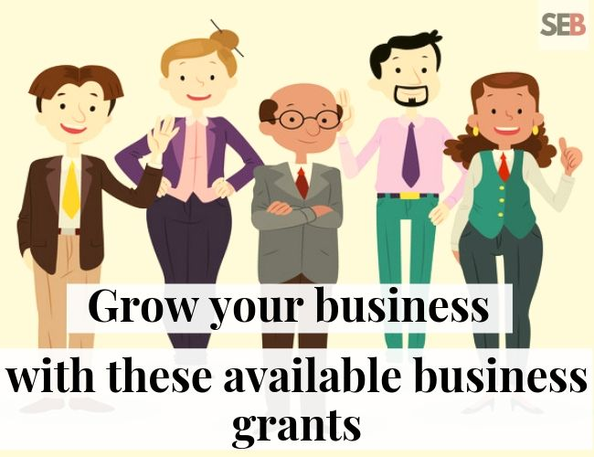 flat image of professionals - seeking available business grants in nigeria to expand your business