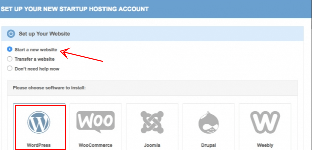 set up new websitev- siteground wordpress installation wizard - smart entrepreneur blog