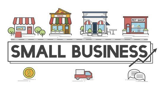 vector representations of different low investment small business ideas you can start right away