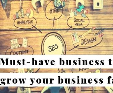 35 useful business tools to get your online business off the ground