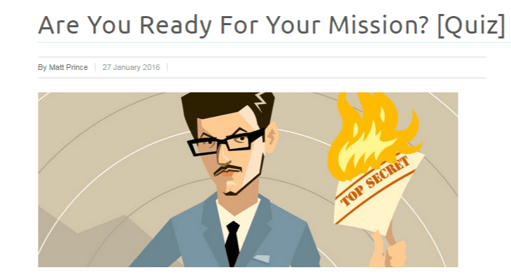 flat out man image ready for the mission for email list building idea