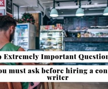hire a freelance content writer - important questions to ask