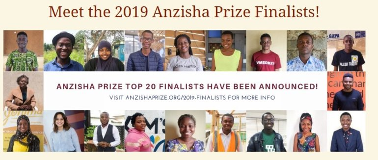 Anzisha prize grant for small businesses in Africa