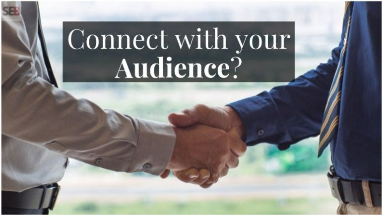 engage on social media to understand your small business target audience