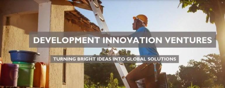 development innovation ventures grant - international grants for nigerian businesses
