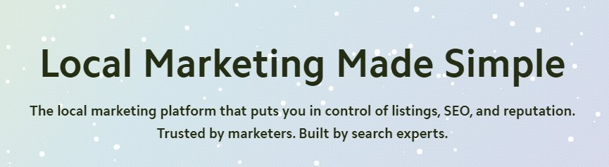 all-in-one local seo marketing platform to manage and grow your business in 2020