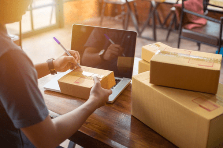 packaging and shipping - ecommerce marketing campaign ideas to boost your online sales