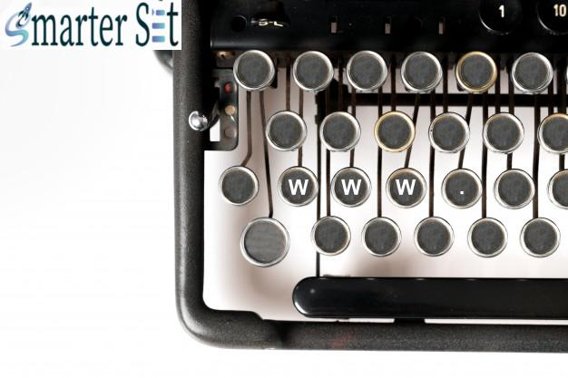 web design keyword close up retro style typewriter studio 117856 2356