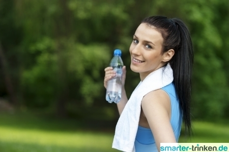 Mit Sauerstoff versetztes Wasser - was bringt es?