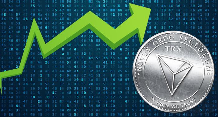 Kết quả hình ảnh cho TRON coin go up