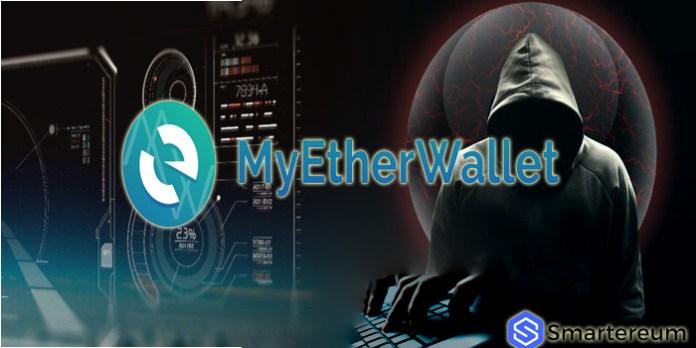MyEtherWallet hacked $152 thousand stolen ethereum
