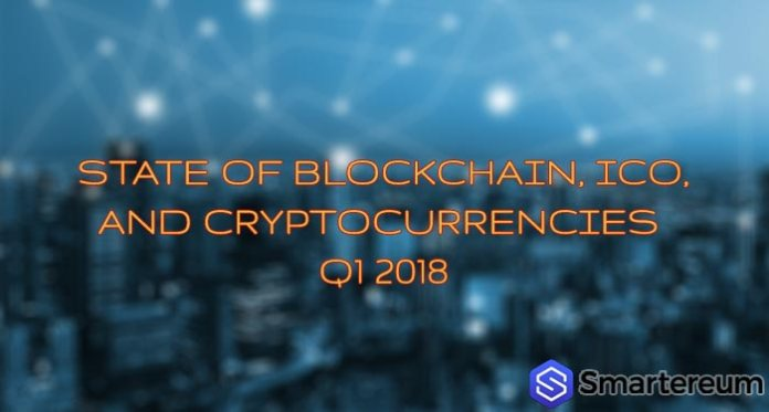state of blockchain q1 2018