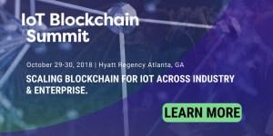IoT Blockchain Summit Atlanta