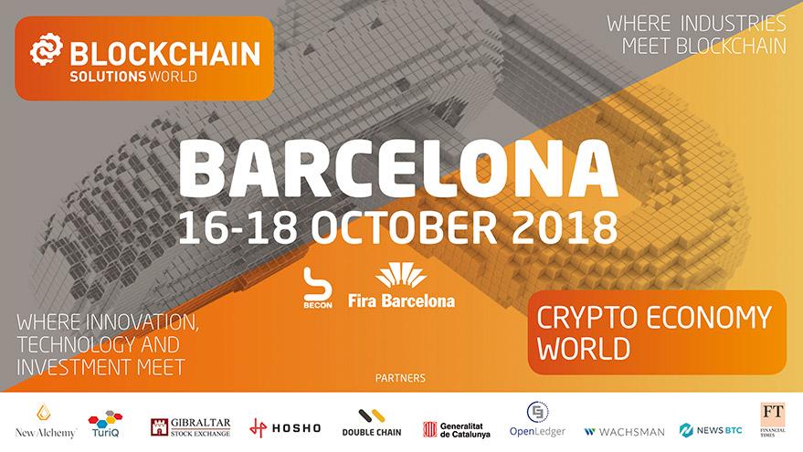 Blockchain Solutions World Barcelona