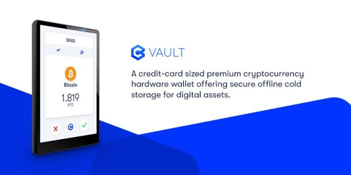 Coinvest Vault Hardware Wallet