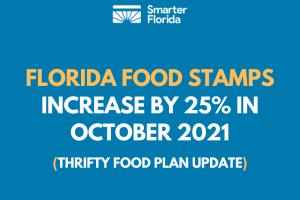 Florida Food Stamps Increase