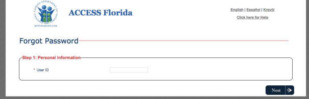 """How to Reset MyACCESS Florida Password"""